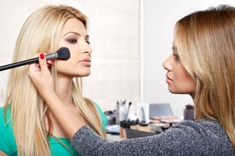 Three-Hour Make-Up Masterclass with Glass of Bubbly and Snacks for One or Two at Ciara Daly Makeup
