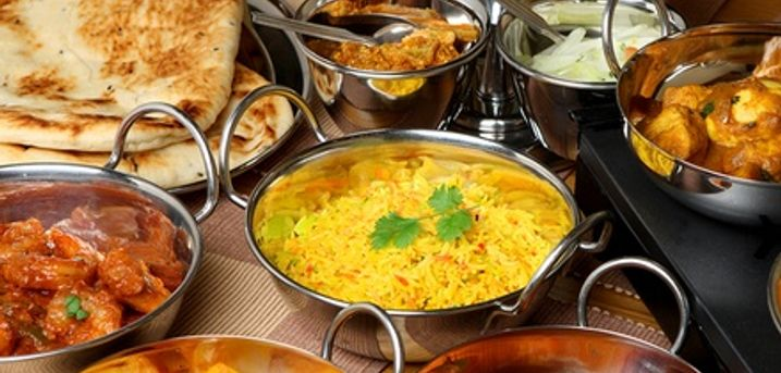 Two-Course Indian Lunch with Poppadoms and Dips for Two or Four at Sarpn Group Restaurant