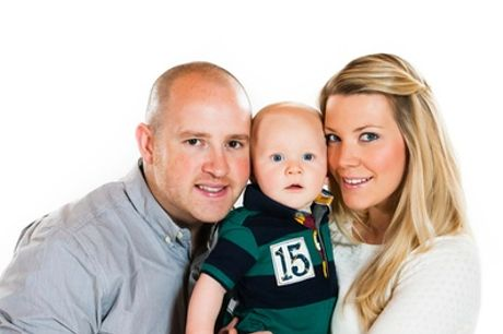 Family Photoshoot with Print at Andrew Vaughan Photography