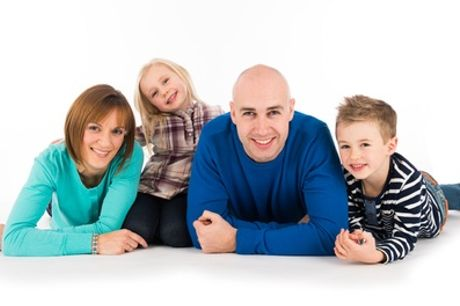 Family Photoshoot With Print at Peter Thomas Photography