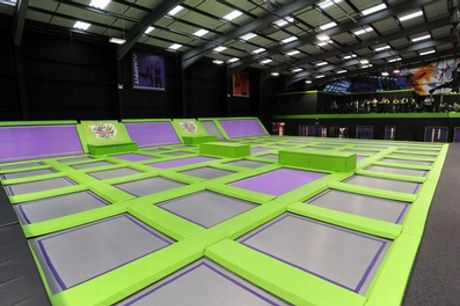 Trampoline Jumping Party for Up to 12 Kids at Jump Giants Newcastle