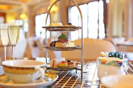 Classic Afternoon Tea with a Glass of Prosecco for Two or Four at Caledonian Hotel
