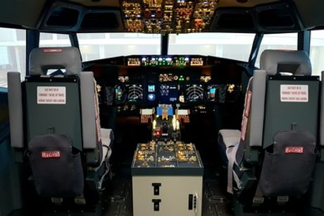 30- or 60-Minute Boeing 737 Flight Simulator Experience at The 737 Experience