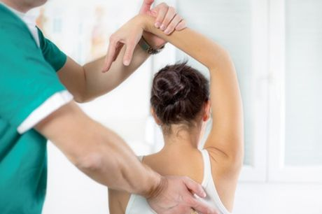 Back Pain Analysis Package with Scan and Two Treatments at Shield Clinic