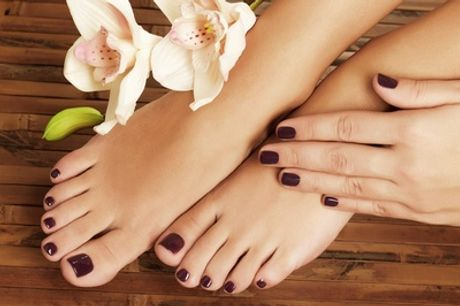 Standard or Gel Manicure, Pedicure or Both at Hush Beauty Clinic