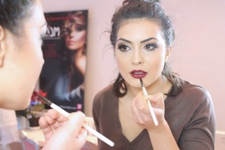 Three-Hour Make-Up Class with Lipstick and Face Charts at Make-Up London Academy