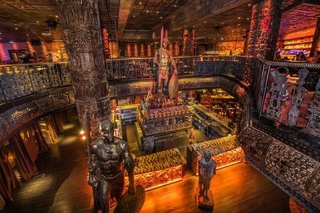 Choice of Buffalo, Wild Boar or Beef Burger, Fries and Cocktail for Up to Four at Shaka Zulu