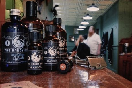 One-Hour Male Grooming Package at The Dandy Gent at Hopkinson