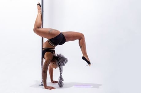 Five or Ten Pole Dancing Classes for One or Two at Swingdon School of Pole
