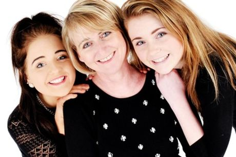 Mother and Family Photoshoot at Studio Blink