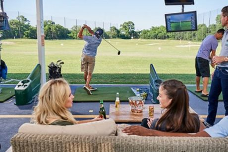 One-Hour Toptracer Golf Session for Up to Three at Leen Valley Golf Club