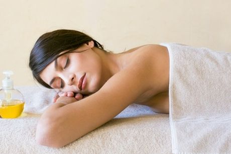 Back and Shoulder Massage or Cleansing Massage with Cupping at Harmony Health and Beauty House