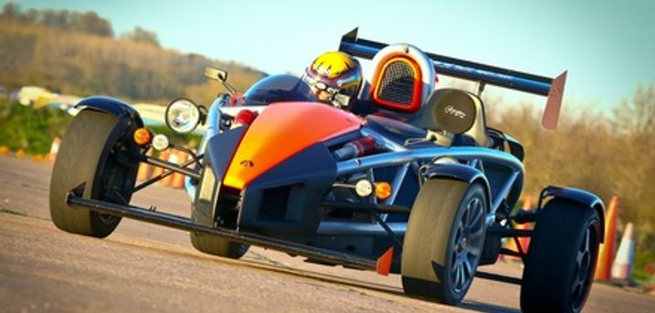 Up to Nine Miles in Top Gears Ariel Atom with Car Chase Heroes, Multiple Locations