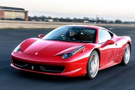 Three or Six Miles in a Ferrari 458 at Car Chase Heroes, Multiple Locations