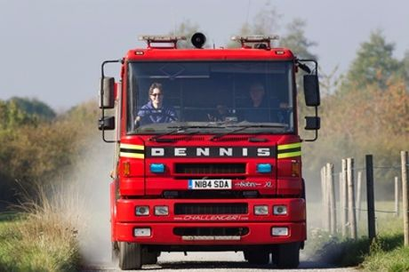 Fire Engine Driving Experience at Challenger