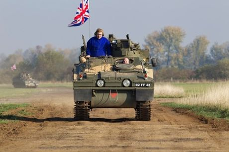 Leyland DAF T244 GS Vehicle or Tank Driving Experience from Challenger