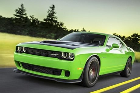 Dodge Hellcat Experience from Car Chase Heroes, Multiple Locations
