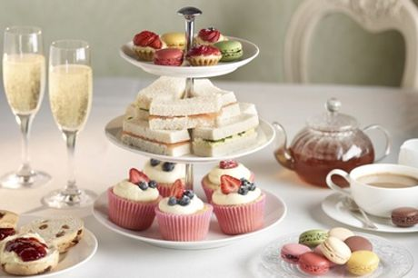 Afternoon Tea with Prosecco for Two at The George Hotel