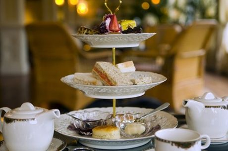 Afternoon Tea with Optional Prosecco for Two or Four at Shillingford Bridge Hotel