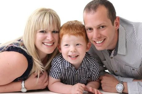 One-Hour Family Photoshoot With Four Prints at Moment in Time Photography