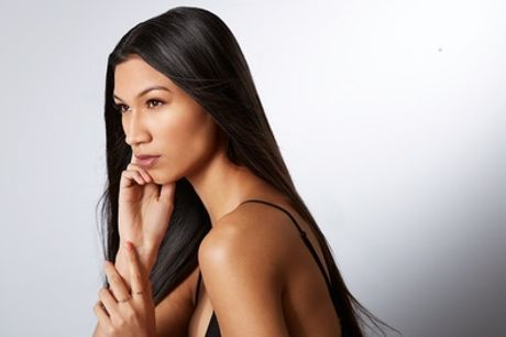 Wash, Cut and Blow-Dry with Optional T-Section Foils or Half Head Highlights at The Refinery