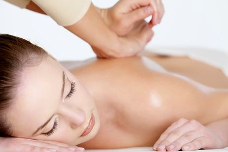 Back, Neck and Shoulder Massage with Hand Mask or Full-Body Massage with Optional Hand Mask at PureSun