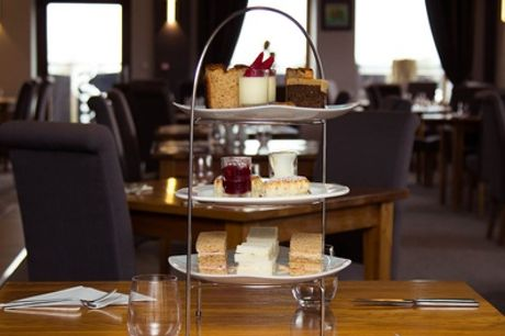 Afternoon Tea for Two with Optional Glass of Wine for Two or Four at Oak Royal Hotel