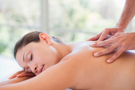 Two One-Hour Full-Body Massages at REM Laser Clinic