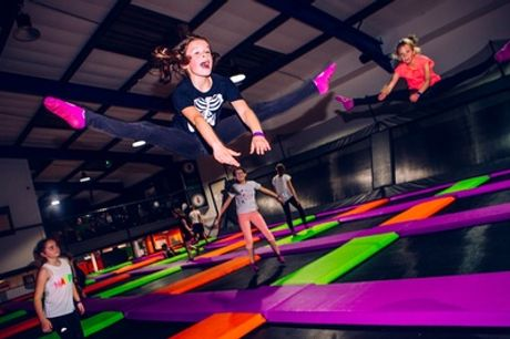 Two-Hour Trampoline Park Entry for One, Two or Four at Atmosphere Trampoline Park