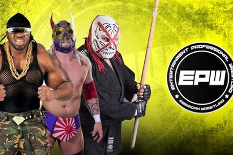 Live Wrestling with EPW 2020, Standard or VIP Ticket, 18 January-12 December, Multiple Locations (Up to 73% Off)