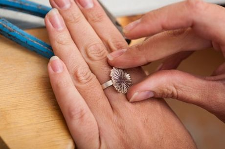 Silver Ring Making Course for One or Two at 24ct Limited