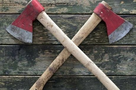 Urban Axe Throwing Session for Up to Six People at Battleaxe