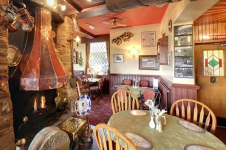 Two-Course Meal with Wine for Up to Four at Millstone Inn - Non-Accommodation