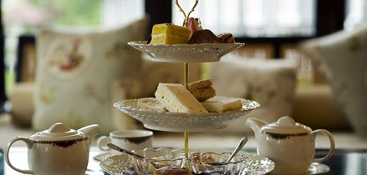 St Ledger Afternoon Tea for Two or four With Cava at Georgian Tea Rooms