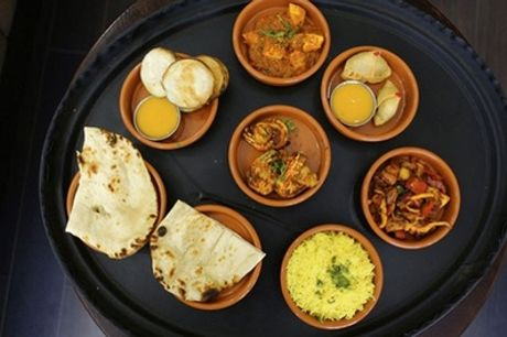 Four or Eight Curry Tapas Dishes with Two or Four Sides for Two or Four at Chilli Restaurant