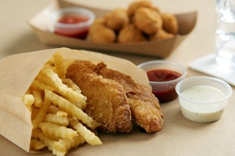 Fish and Chips Meal for One, Two or Four at Traditional Fish and Chips