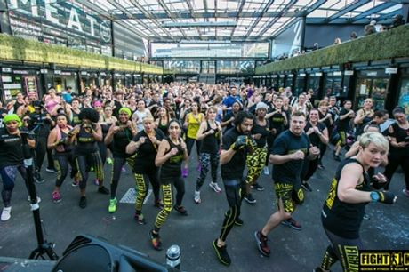 Five Fight Klub or Drum'n'Bass Workout Classes at Fight Klub, Multiple Locations