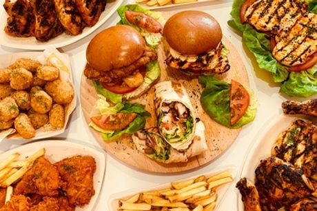 Burger, Fries and Drink Meal for Up to Four at Riot Chicken
