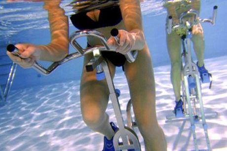 Three Aqua Cycling Sessions at Wet Bikes