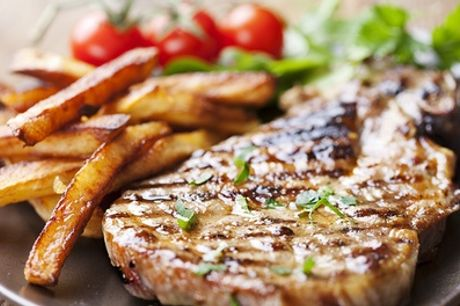 Rib-Eye Steak Meal For Two or Four at Cactus Grill Bar Restaurant