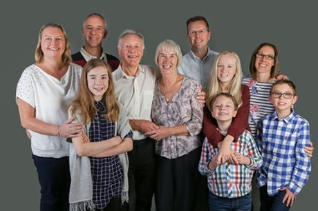 Family and Friends Photoshoot with Prints and Shared Canvas at Hallmark Photography