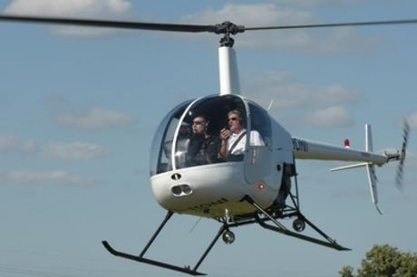 30-Minute One-to-One Helicopter Flying Lesson at Flying Pig Helicopters