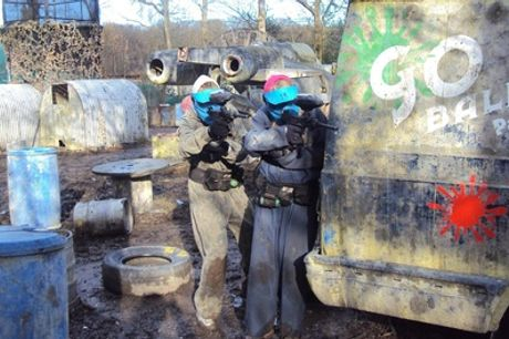 Paintballing for Up to 20 People with 100 Balls Each at Bricketwood Paintball