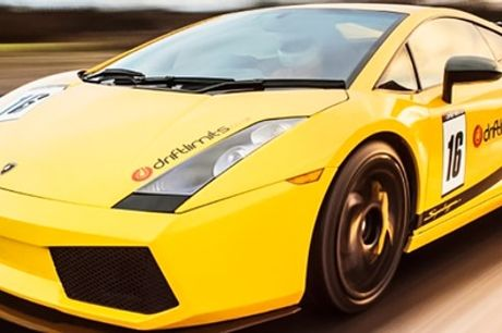 Lamborghini Experience for One or Two at Drift Limits