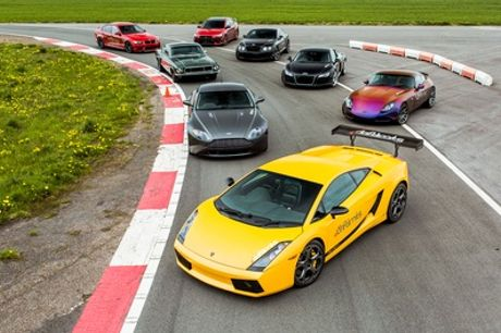 Supercar Thrill and Blast Driving Experience for Up to Five Cars with Drift Limits
