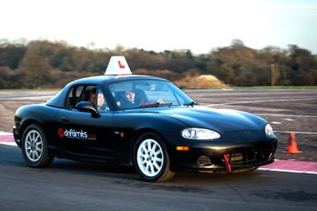 Under 17s Fun Drive for One or Two at Drift Limits