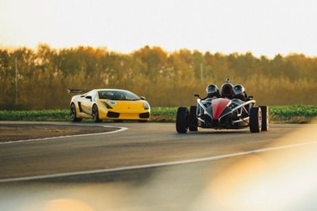 14-Lap Ariel Atom Driving Experience for One or Two at Drift Limits
