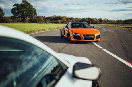 14-Lap Audi R8 Driving Experience for One or Two with Drift Limits