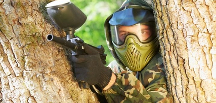 Bricket Wood Paintball: Full-Day Experience For Up to Ten People With 100 Balls Each