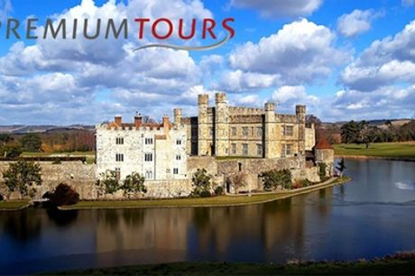 Leeds Castle Private Tour with Canterbury, Dover and Greenwich Plus Cruise with Premium Tours